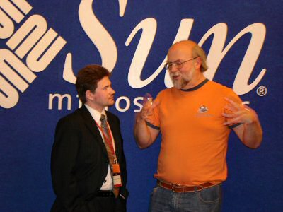 Vladimir Mamut and James Gosling
